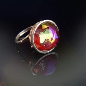 Izzó parázs sziporkázó gyűrű