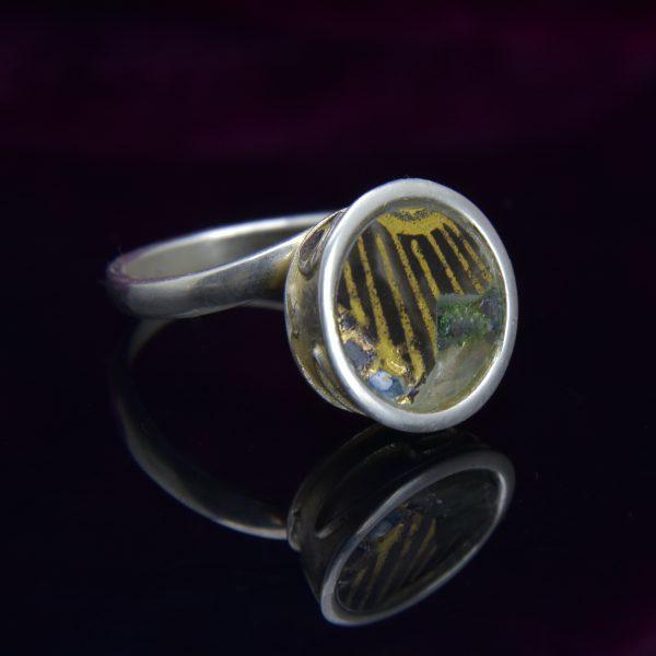 Aranyló napsugarak gyűrű