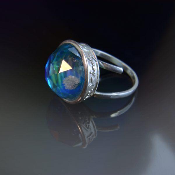 Zamirá kék legendája gyűrűje