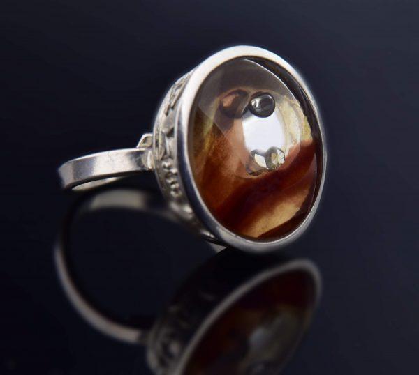 A vadgesztenye titka gyűrű