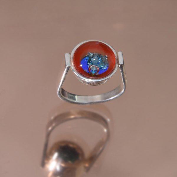 Narancsliget virágai gyűrű