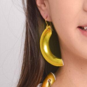 Zsolnay, azaz a fémes zöld eozin fülbevalója