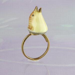 Antik Herendi porcelánból , Csicsergő madár gyűrűje